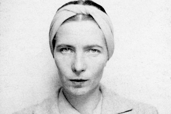 photo of Simone de Beauvoir