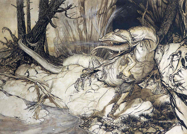 Artwork by Arthur Rackham