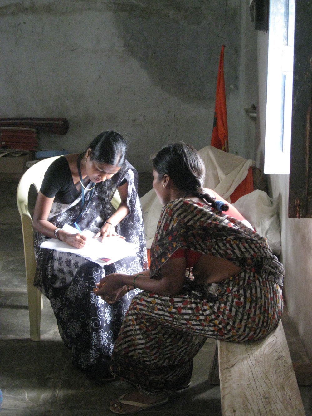 Antenatal check-up, Telangana, India
