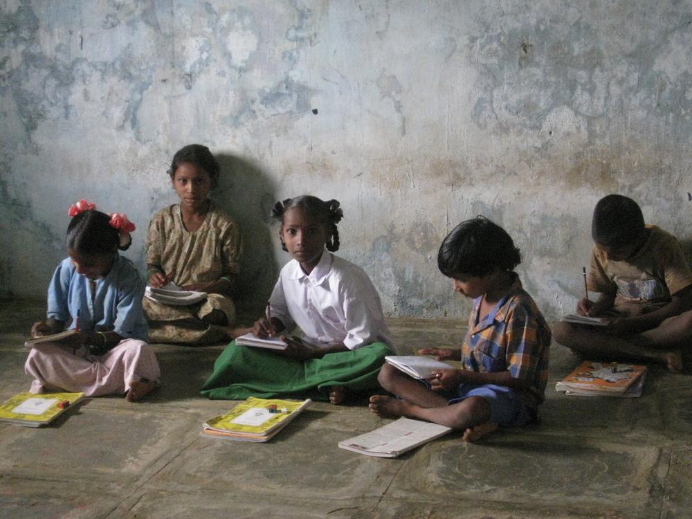 Waiting for the test, Telangana, India