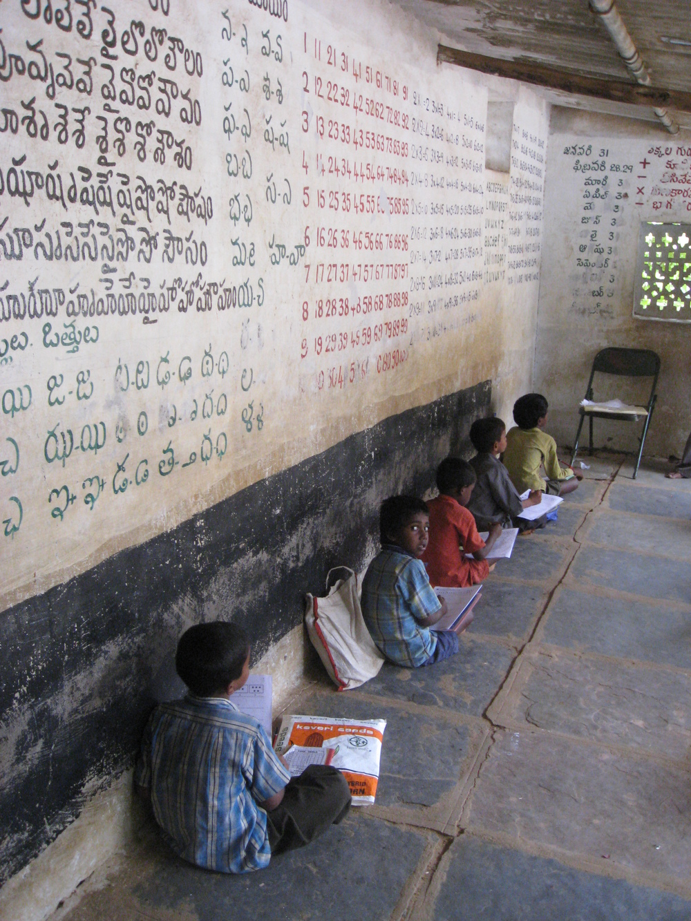 In class, Telangana, India