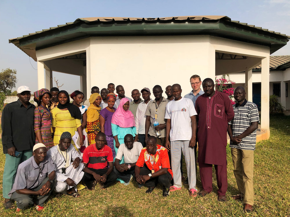 Endline team, Gambia