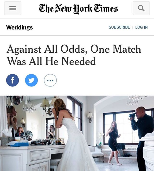 A year and a half ago we created the How We Met project! We feel so honored to be featured in this Sunday's New York Times wedding section! #howwemetstory #vincentmallozzi #newyorktimes #ourlovestory  tinyurl.com/jyxunak