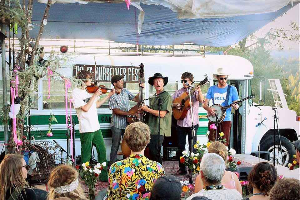 North Pacific String Band at the first annual DIO Fest 2013. Photo: Sean Basalyga