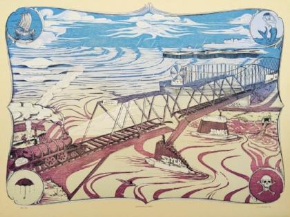 Lucas Elmer's original print work