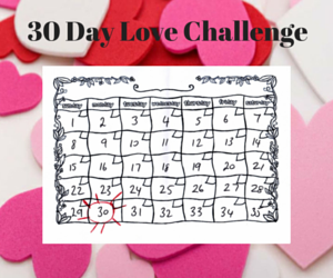 take the love challenge today