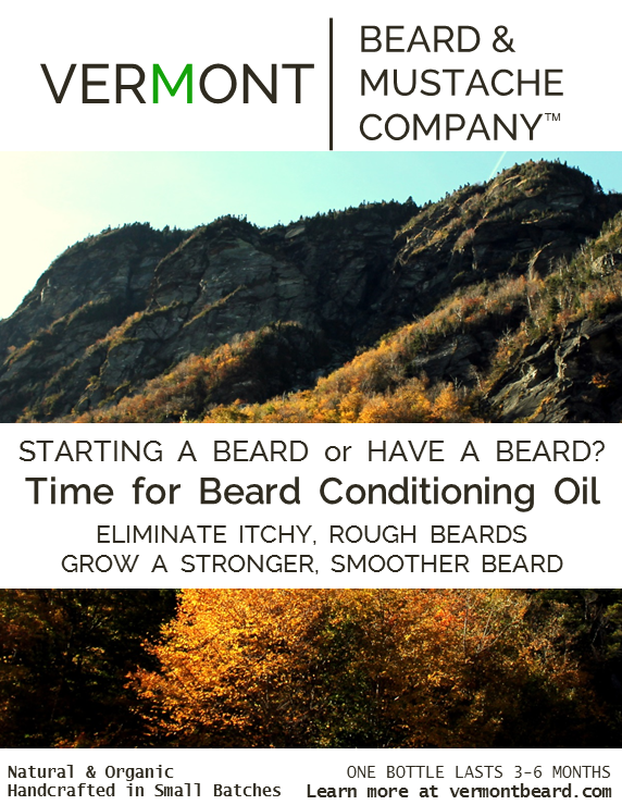 time for beard conditioning oil