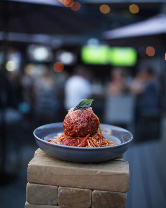 Sunday is brunch from 11am-3pm, a whole slate of NFL games, and our soon to be famous Spaghetti Dinner (with a wine pour) from 3-close 🍝