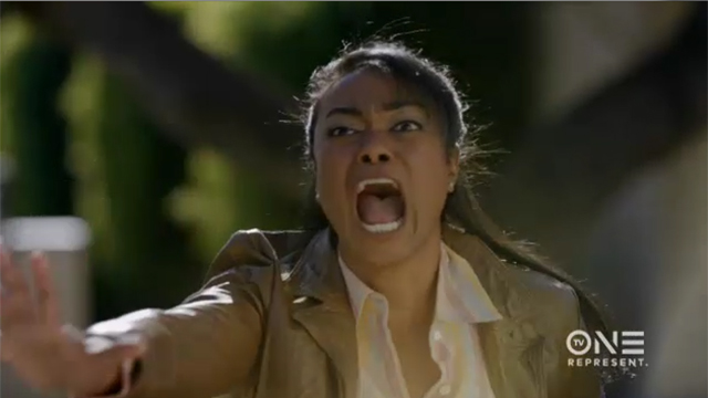 """Tatyana Ali as Clara Randall in TV One movie exclusive, """"Second Sight"""", airing on Saturday, April 23rd on TV One."""