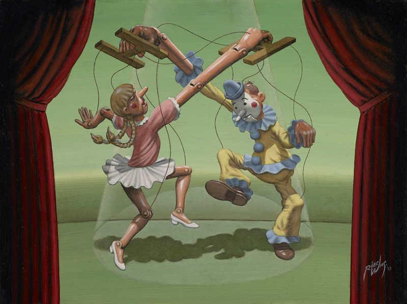 Puppets Orchestrating Puppets