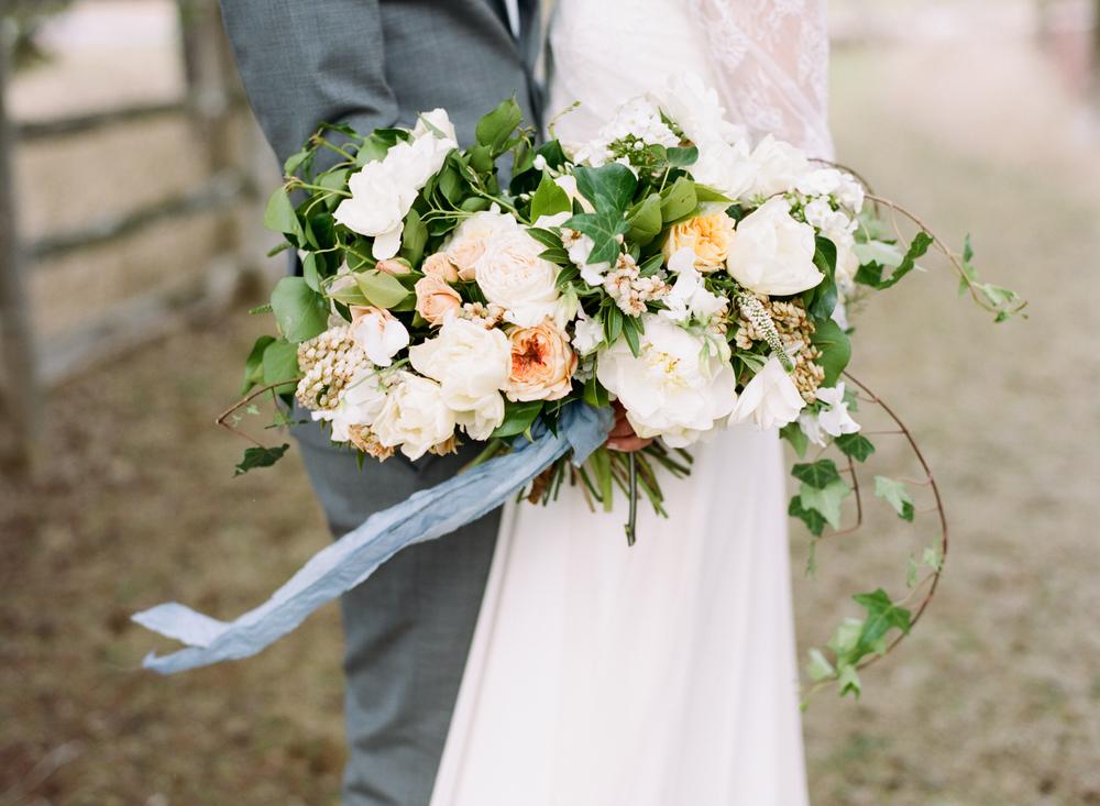 Big Love Wedding Design, loose garden bouquet, Toronto Vow Renewal