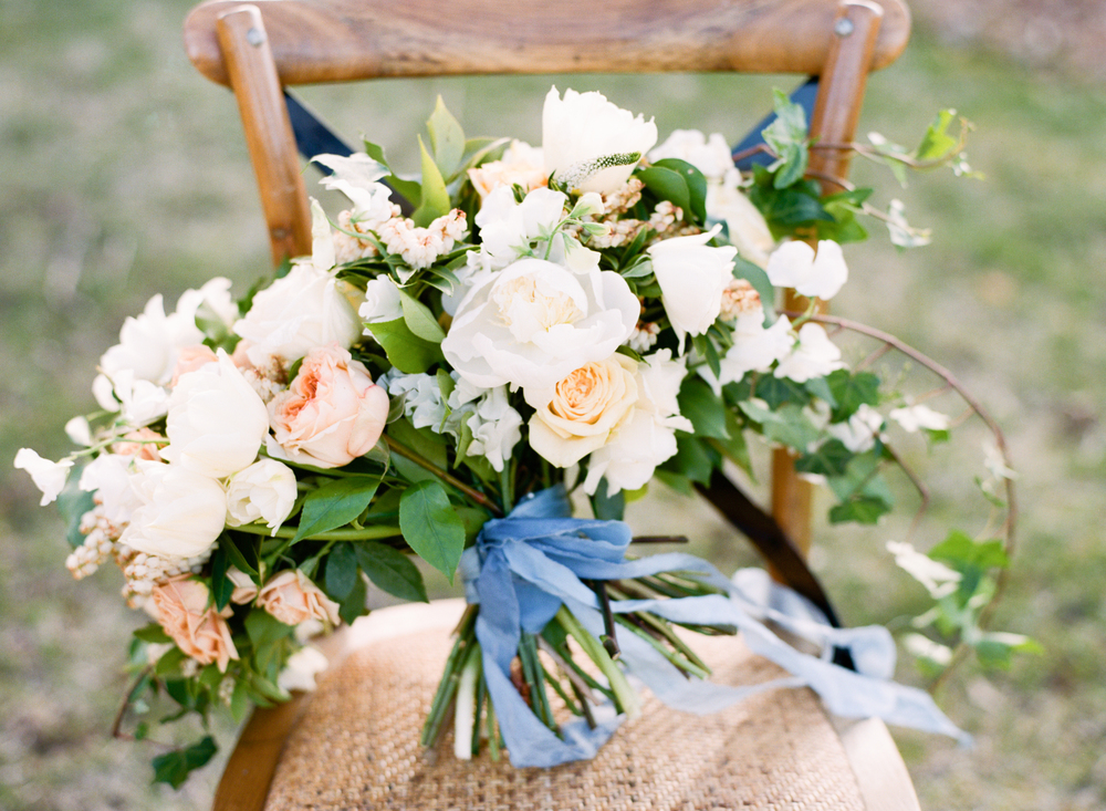 Big Love Wedding Design loose garden bouquet, Toronto Vow Renewal