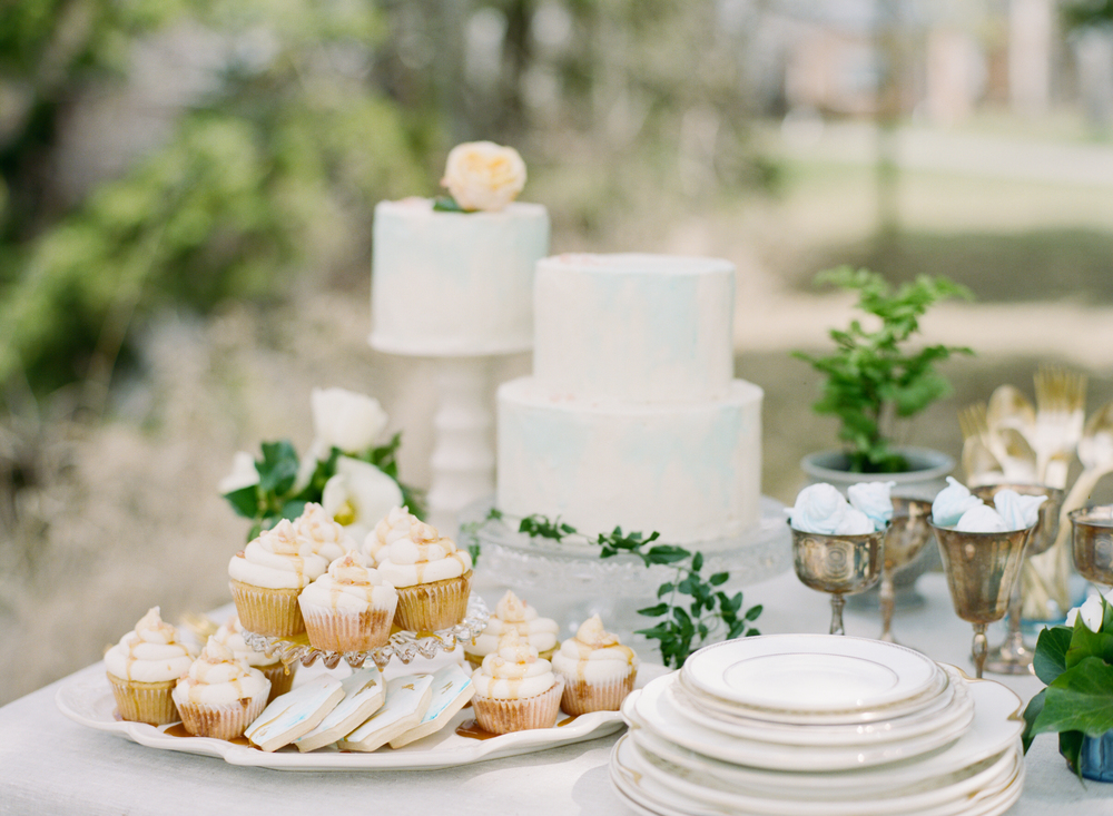 Big Love Wedding Design, family style sweets table, Toronto Vow Renewal
