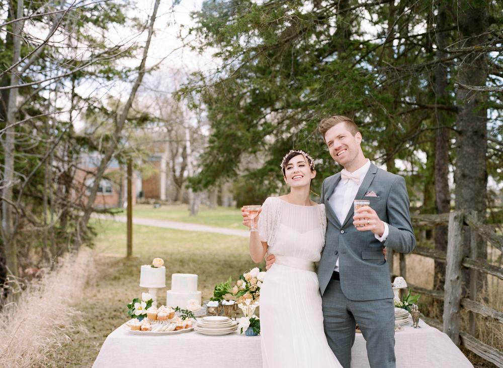 Big Love Wedding Design, tablescape, Toronto Vow Renewal