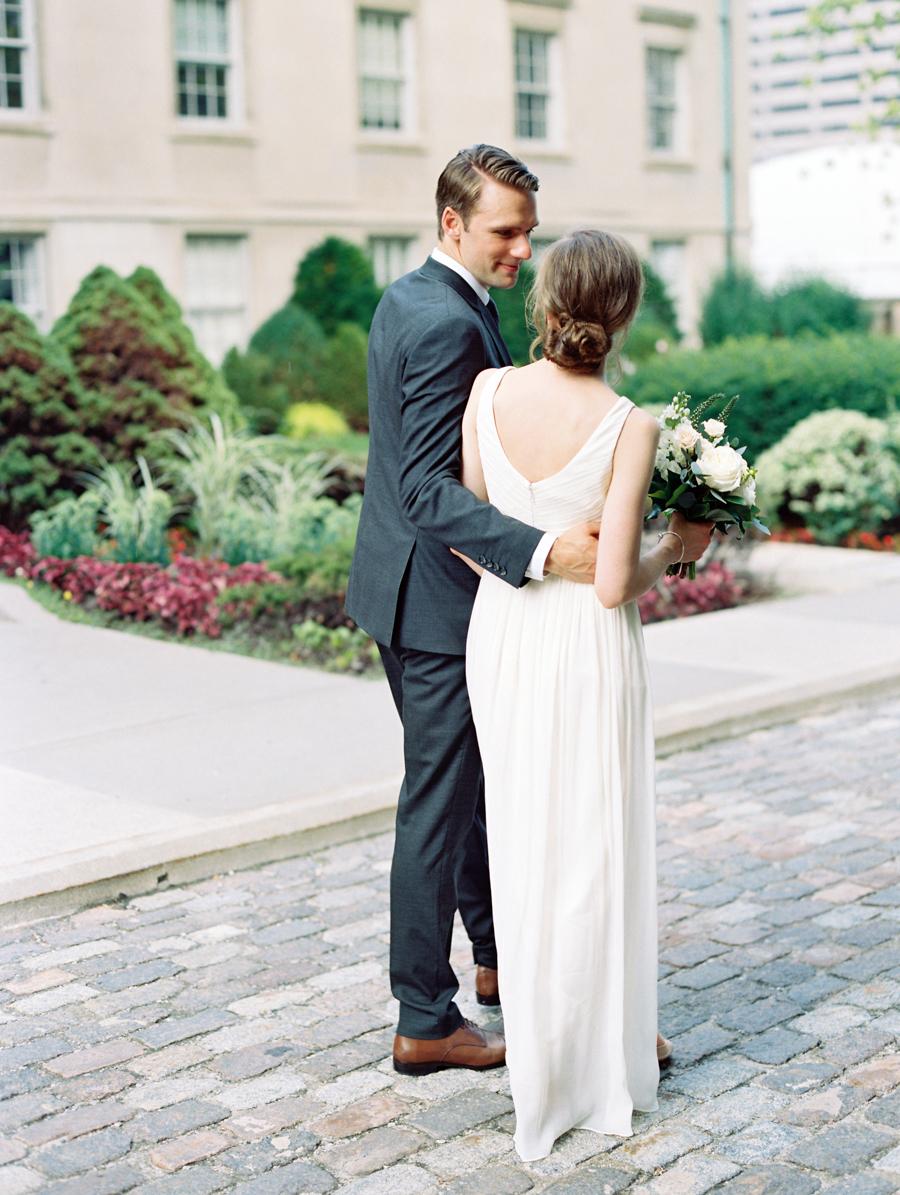 Big Love Wedding Design, Toronto Wedding, Boehmer, JCrew wedding gown