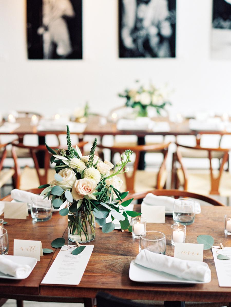 Big Love Wedding Design, Toronto Wedding, Boehmer, copper and blush tablescape