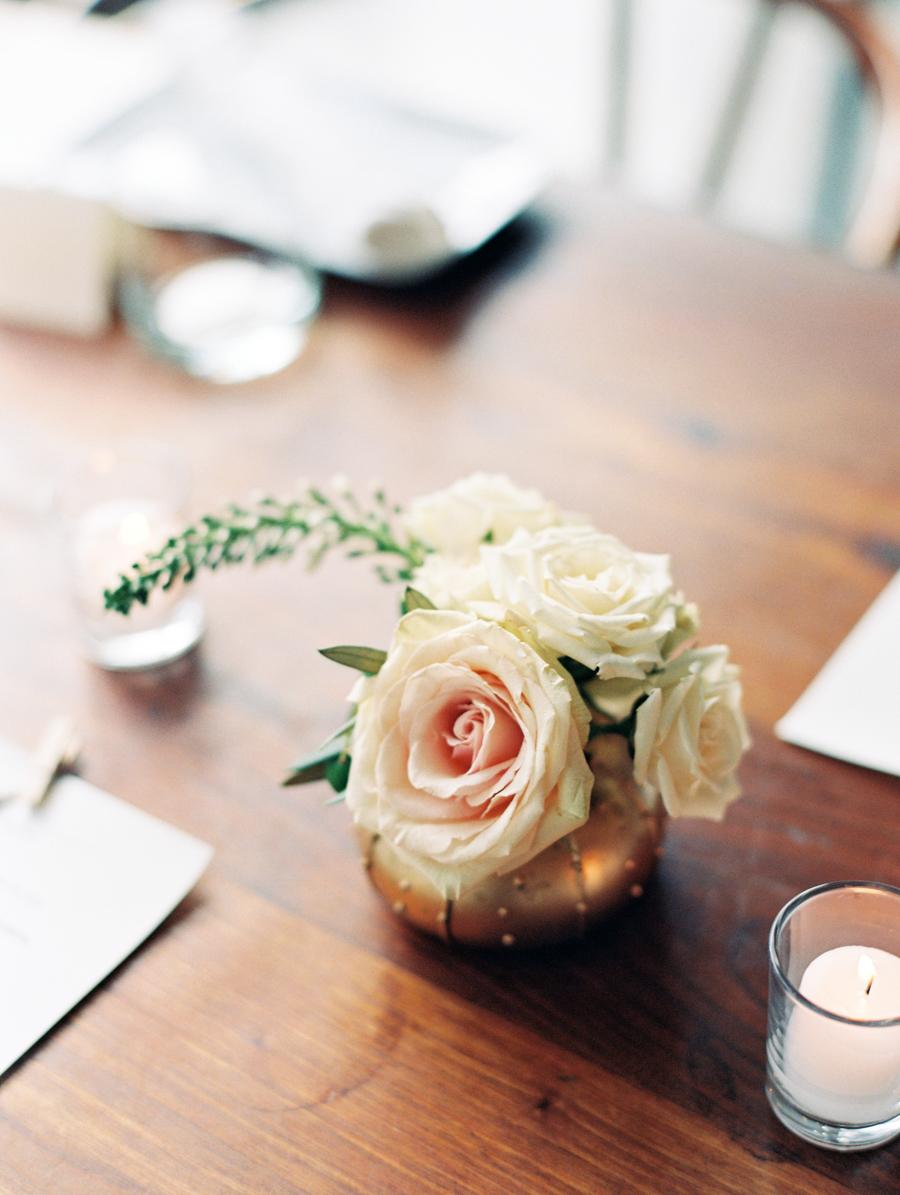Big Love Wedding Design, Toronto Wedding, Boehmer, copper tablescape
