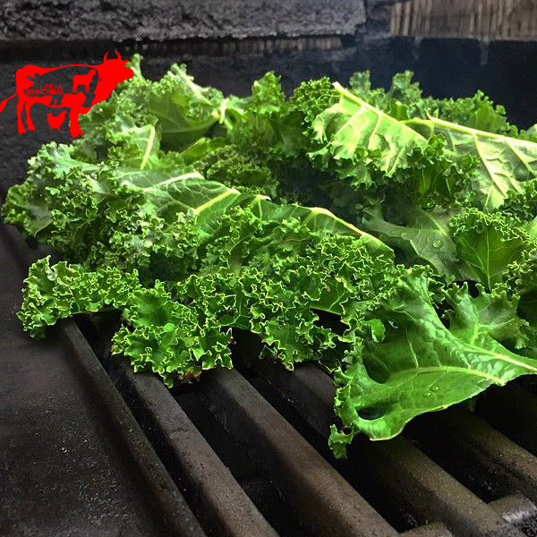 Kale on the BBQ