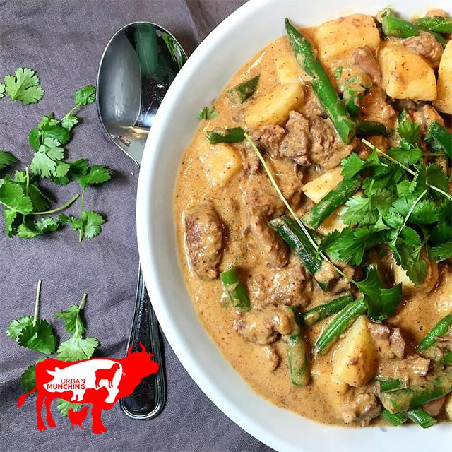 Lamb Neck Massaman Curry Photo: Tim Elwin