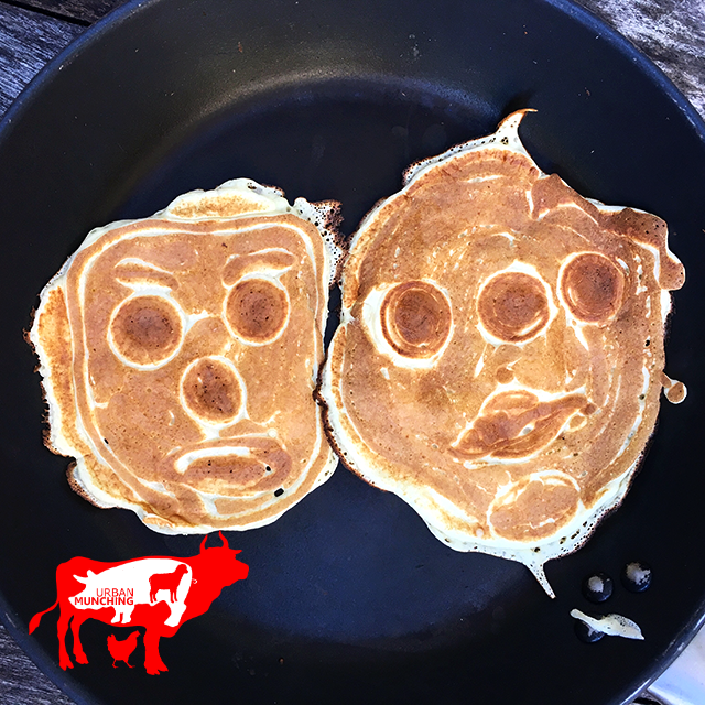 Funny Faced Pancakes by William Elwin Photo: Tim Elwin