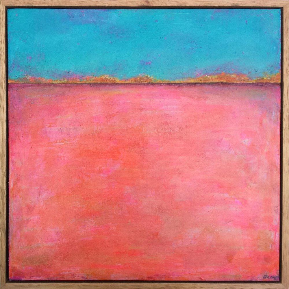 'Pink Lake' - Cate Laidler