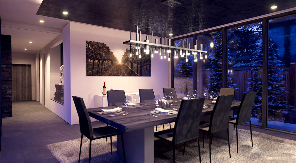 Hallam Residence Dining Room