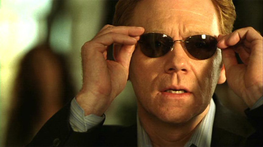 This is a photo of David Caruso as Horatio on CBS's CSI: Miami