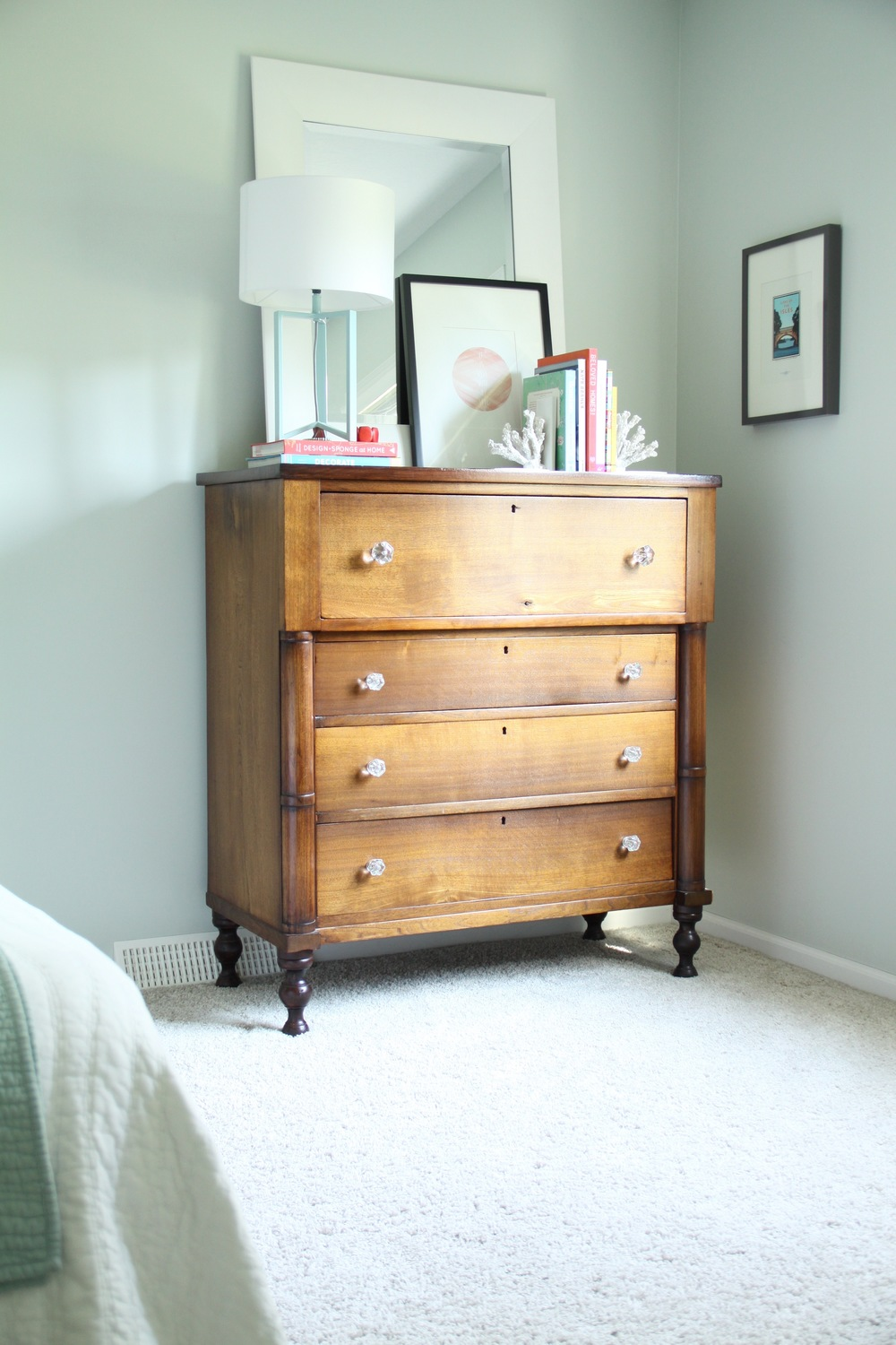 Master Bedroom Antique Dresser