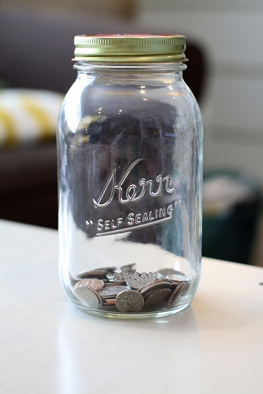 Mason Jar Full of Change