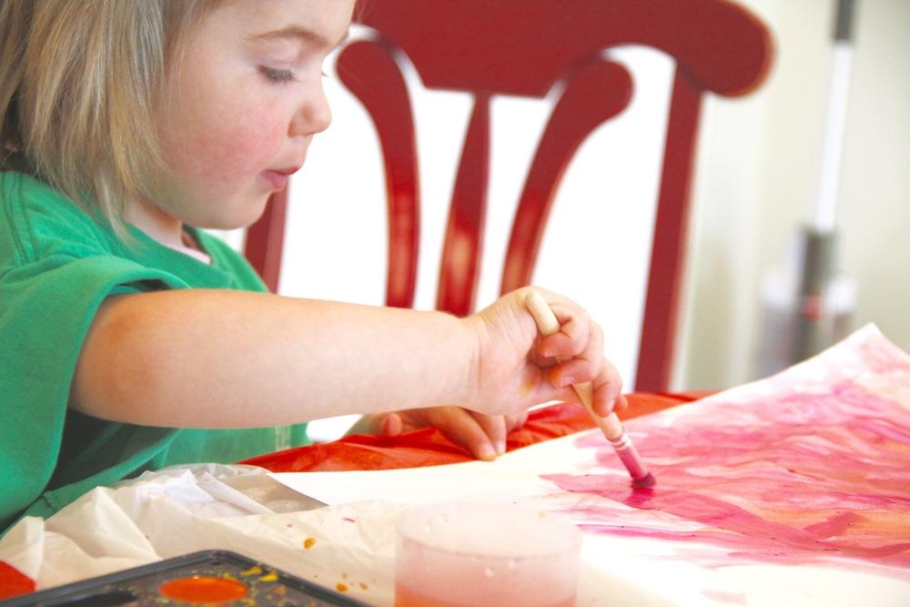 Kids Watercolor Art