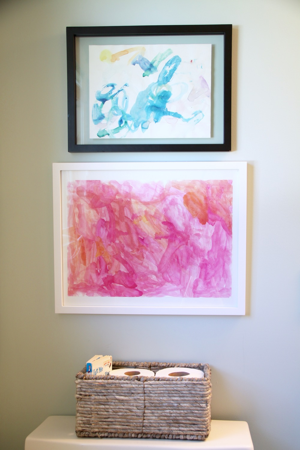 Kids Abstract Watercolor Art