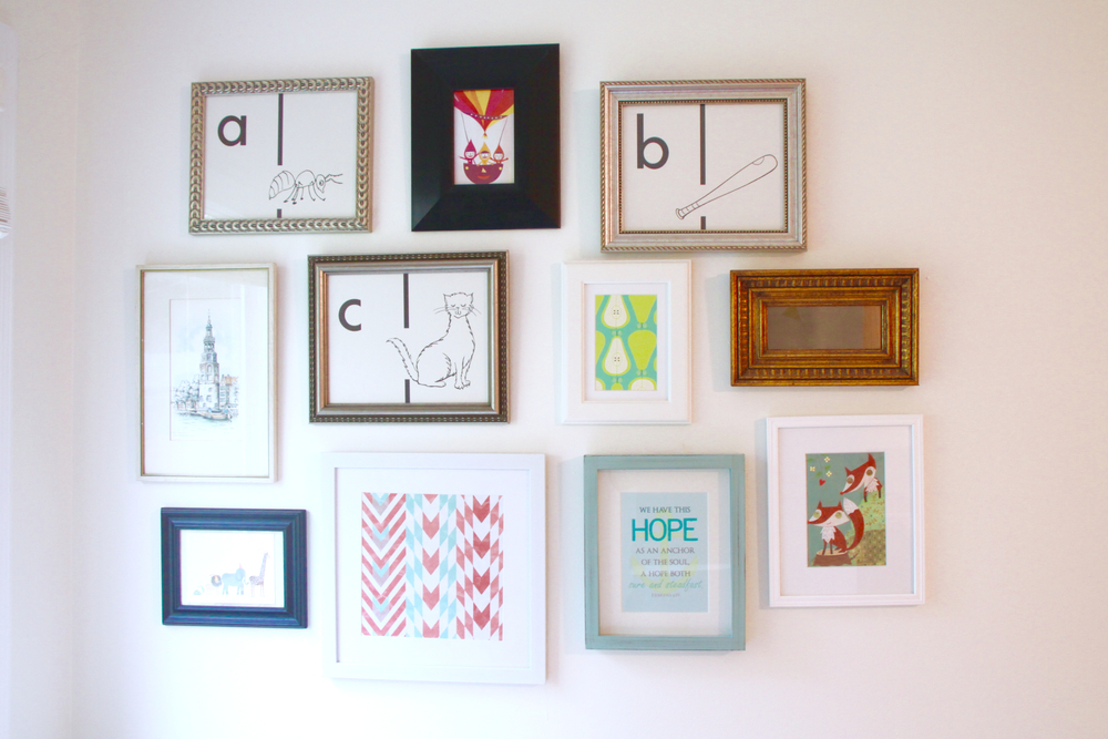 Favorite Sources for Wall and Picture Frames | Modern Chemistry at Home
