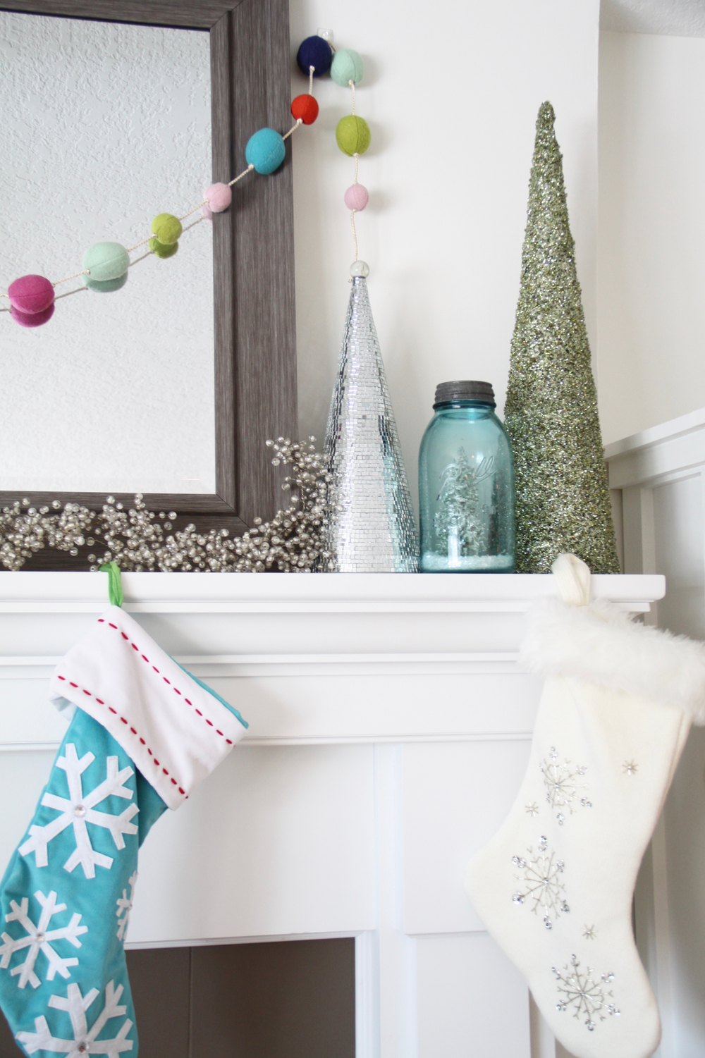 Christmas Decorating with Bright Colors