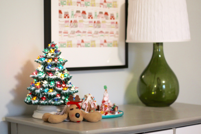 ceramic christmas tree - Ceramic Christmas Decorations