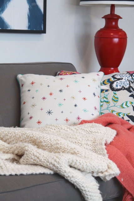 Bright Living Room Pillows
