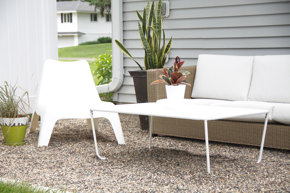 Modern Outdoor Patio Coffee Table