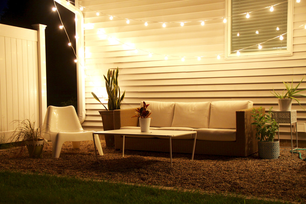 Outdoor Patio String Lights Twinkle Lights