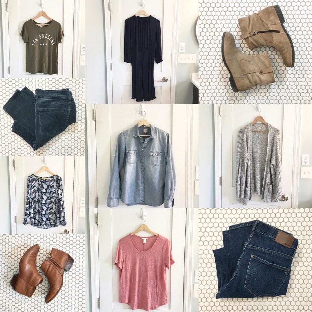 Spring 10x10 Wardrobe Challenge