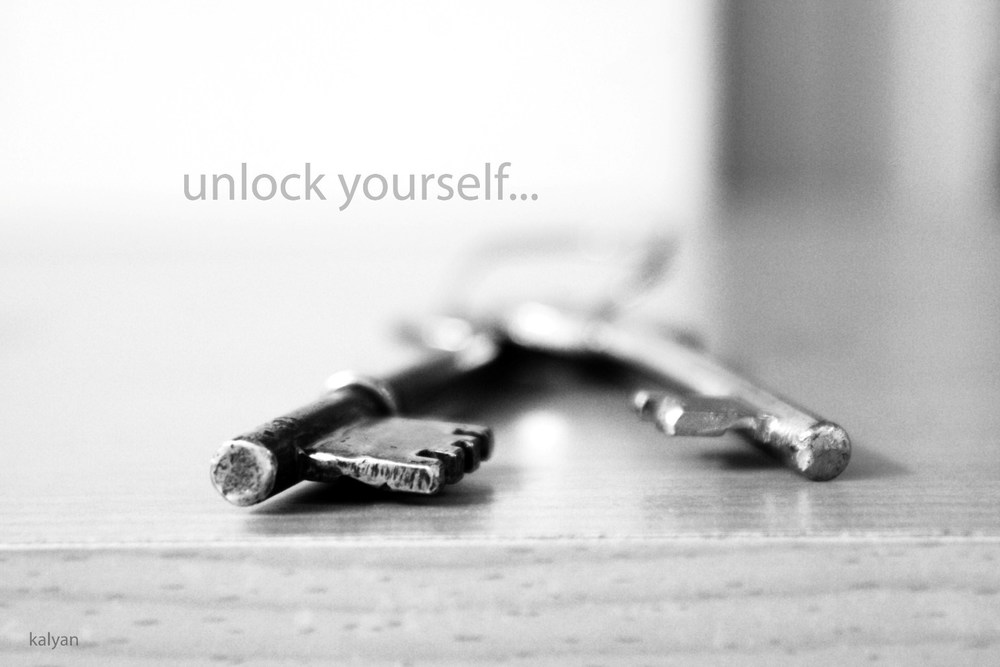 Unlock yourself ...