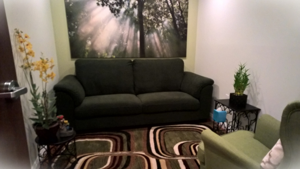 One of our therapy rooms