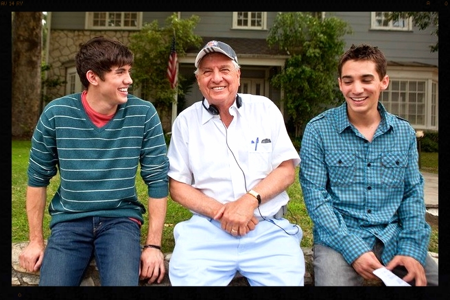 Valentine's Day: Carter Jenkins, Garry Marshall, and Angelo Restaino.
