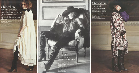 Karl Lagerfeld for Chloe , 1977