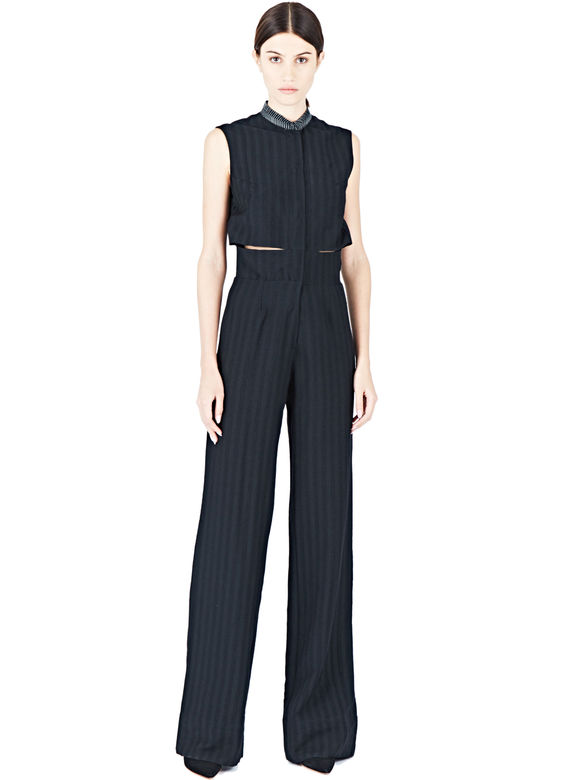 Emiliano Rinaldi Women's Safari Jumpsuit from AW15 in Black.jpg
