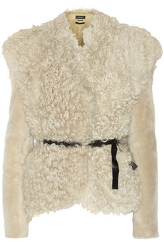 Isabel Marant Drew shearling jkt NOT for SALE, C/O Closet