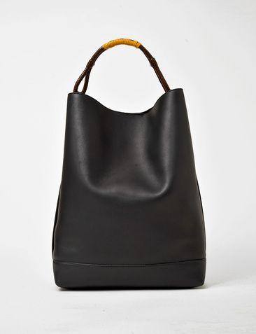 Marni lamb leather shoulder bag