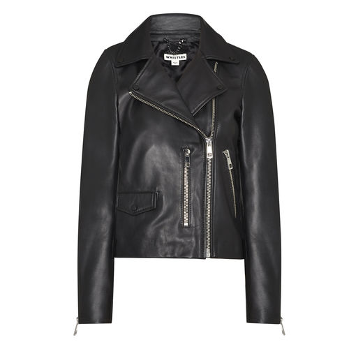 WHISTLES Biker Jacket