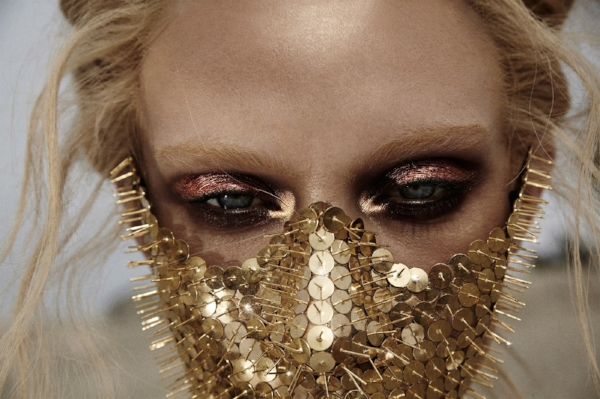JamieNelson face-metallic-copper-gold-makeup-edgy-avant-garde.jpg