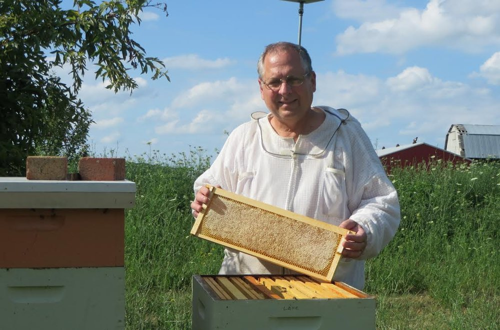 Elk Creek Honey Farm - Southern Lorain County - Beekeepers Tim and Renee harvest raw honey and make other honey products. Their honey-based products include herbal and flavored honeys, as well as cosmetics and other beeswax products.