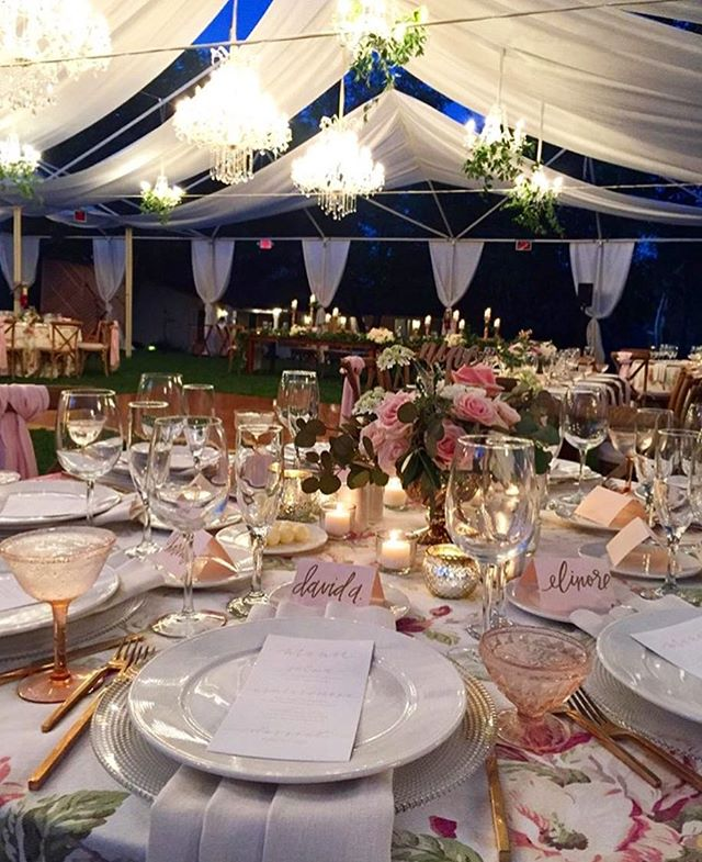 Still swooning over the #wedding details at #idoesburgs! 💗💗💗#Repost @hautefetes ・・・ DETAILS: so many of them at @homeobsession's exquisite wedding last night - champagne colored raw silk tent sails, floral linens mixed with farmhouse tables and vineyard back chairs, pashmina chair backs, vintage blush coupes and gold flatware, dreamy vine covered chandeliers... Every bride's dream garden wedding come true!  And this team: Design & Planning @hautefetes | Photography @jessica_dibella | Floral @bluebellflorals | Tabletop @hostesshaven | Rentals @laurensharon and @classicpartysd | Linens @latavolalinen | Cakes @susiecakesbakery | Invitations, Stationery & Signage @jayymayy | Escort Cards @seacalligraphy | Videographer @akrosweddings | DJ @kevinmiso | Marquee Lights @mymarqueesd | Lighting @thegroove | Hair @alexnlehman | Makeup @dollhouseteam | Venue @weddings_theinnatrsf @theinnatrsf