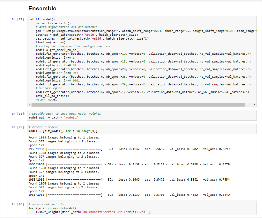Kaggle - Invasive Species Monitoring - Ensemble with ROC of 0 95532